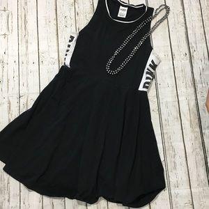 Victoria's Secret Pink Sleeveless Black Dress